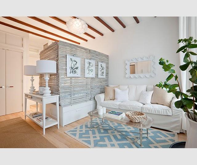 Achados de Decoração blog de decoração, decoração de kitinete, decoração de quitinete, decoração com branco, apartamento decorado