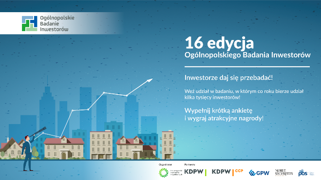 Weź udział w Ogólnopolskim Badaniu Inwestorów i wygraj nagrody!