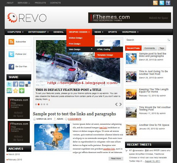 Revo WordPress Theme