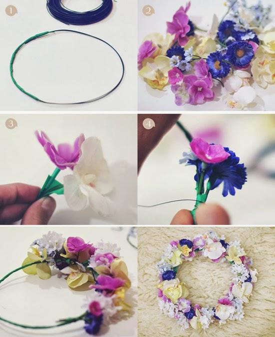 opcin 7 collage vintage - Como Hacer Diademas De Flores
