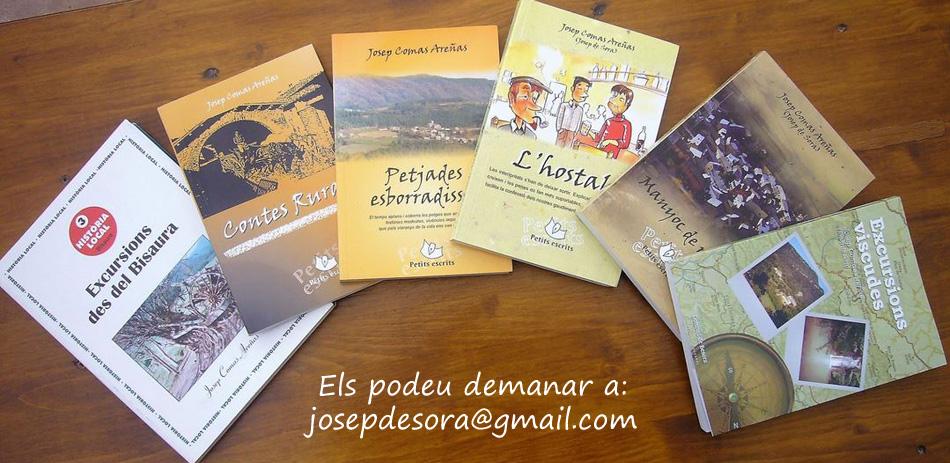 ELS LLIBRES D'EN JOSEP DE SORA