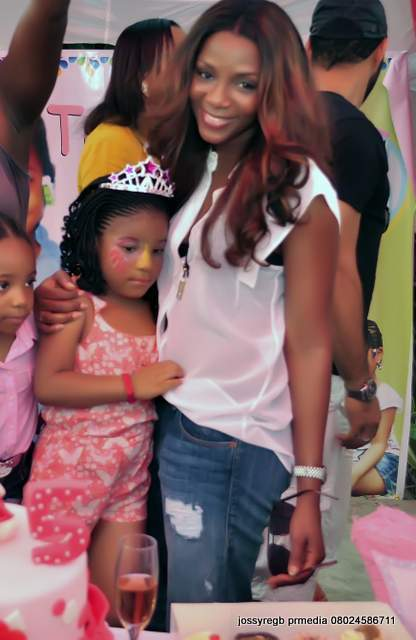 Photos from Monalisa Chinda's daughter's birthday party