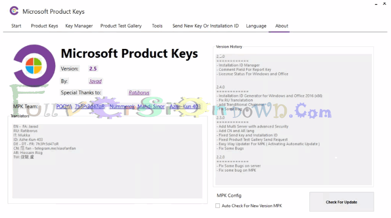 office 2016 license key finder