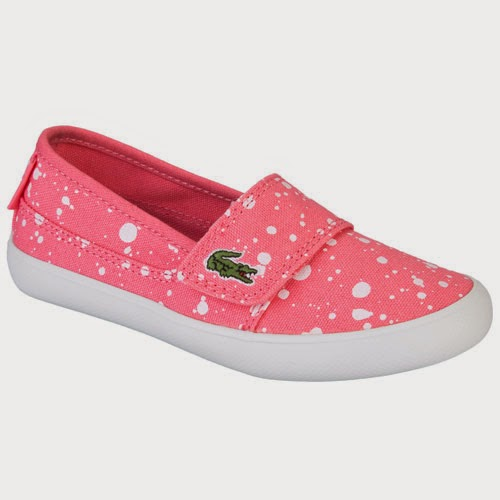 090e08a85a55cd cute pink shoes with white dots for girls