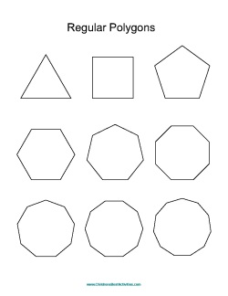 3rd grade, 4th grade Math Worksheets: Naming polygons | GreatSchools