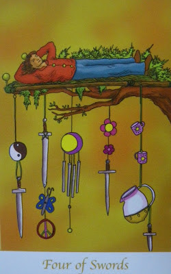 Four of Swords, Simply Deep Tarot