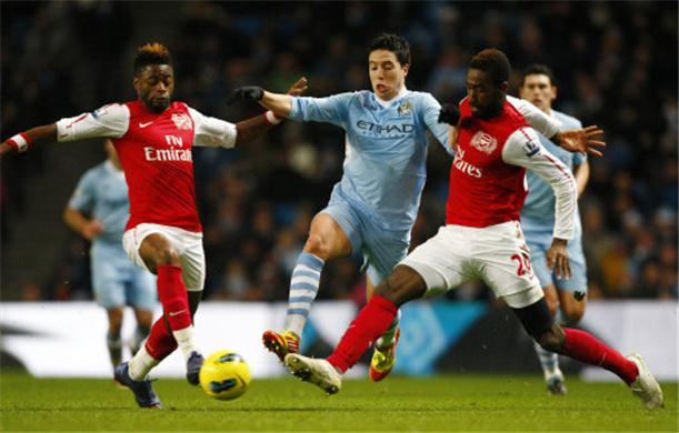 rediksi Skor Manchester City vs Arsenal, 23  September 2012