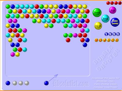 original bubble shooter arcade mode