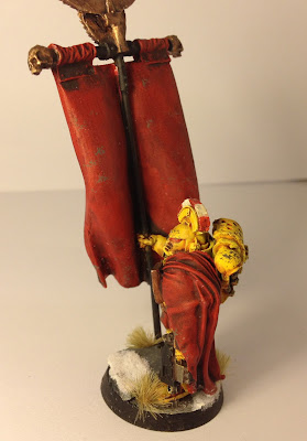 Pre-Heresy Imperial Fists Standard Bearer