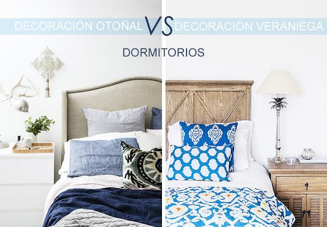 Textiles azules para cama