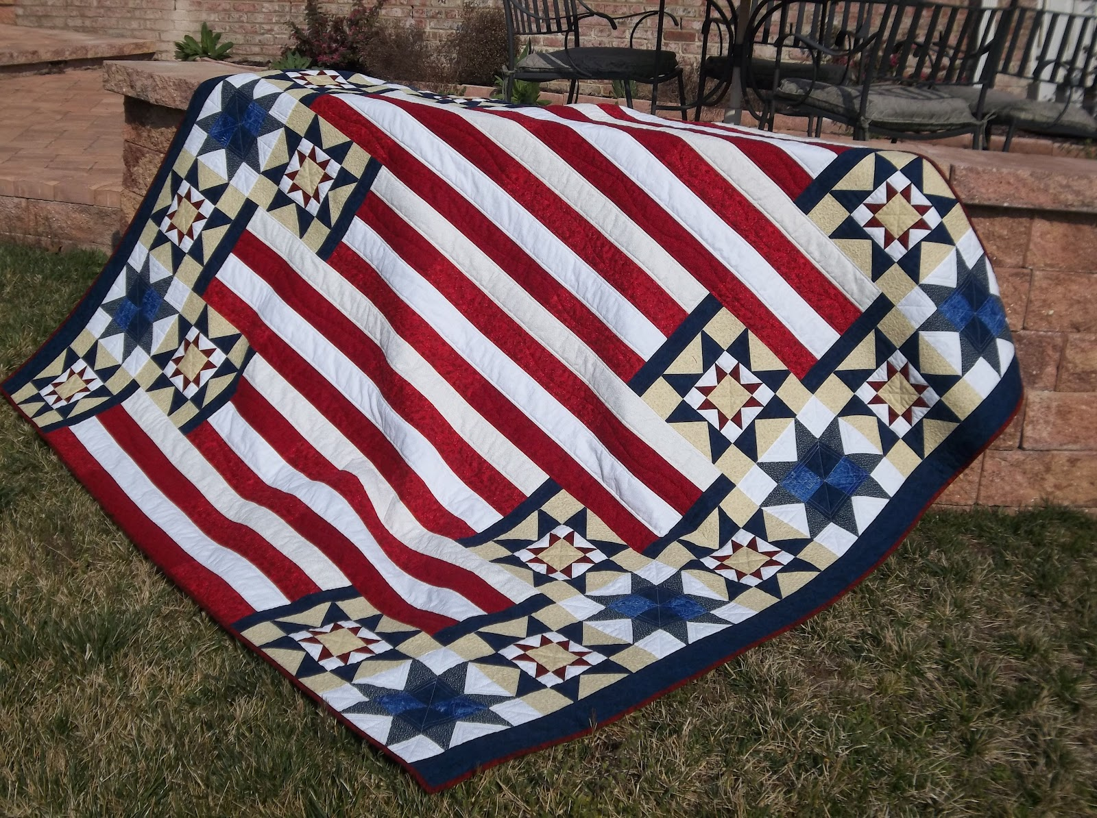 Little Pink Rose Quilting & Sewing : Quilt of Valor {Three ...