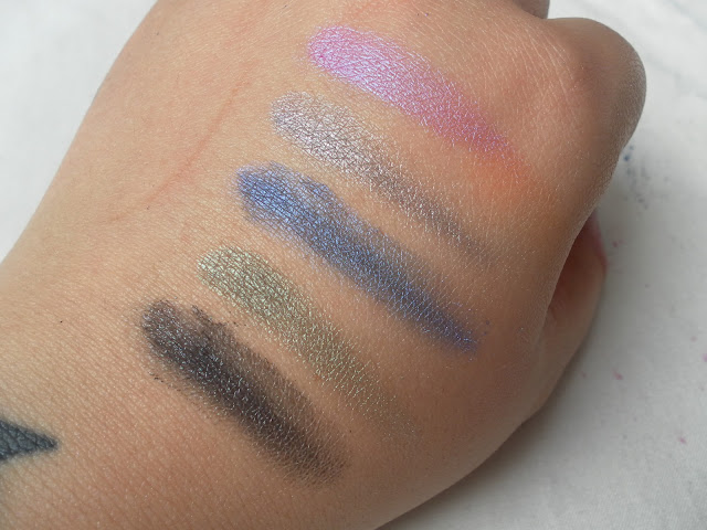 A picture of Stargazer Star Dust Eyeshadow Swatches