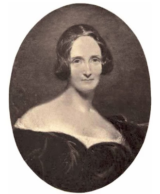 Mary Shelley  from The Life and Letters of Mary Wollstonecraft Shelley  by Mrs Julian Marshall (1889)