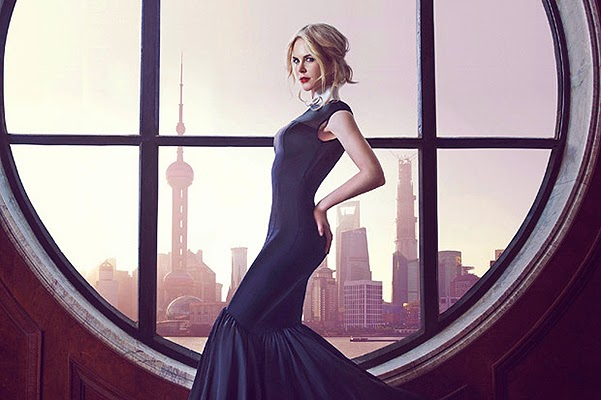 Nicole Kidman on the cover of a Chinese gloss