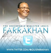 Follow The Honorable Minister Louis Farrakhan on Twitter!
