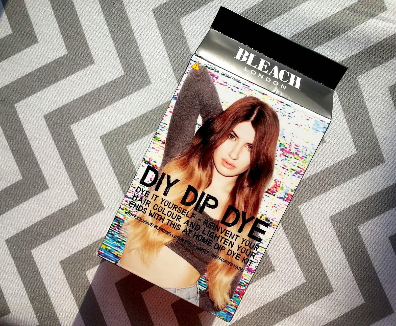 Bleach London DIY Dip Dye Review Before After