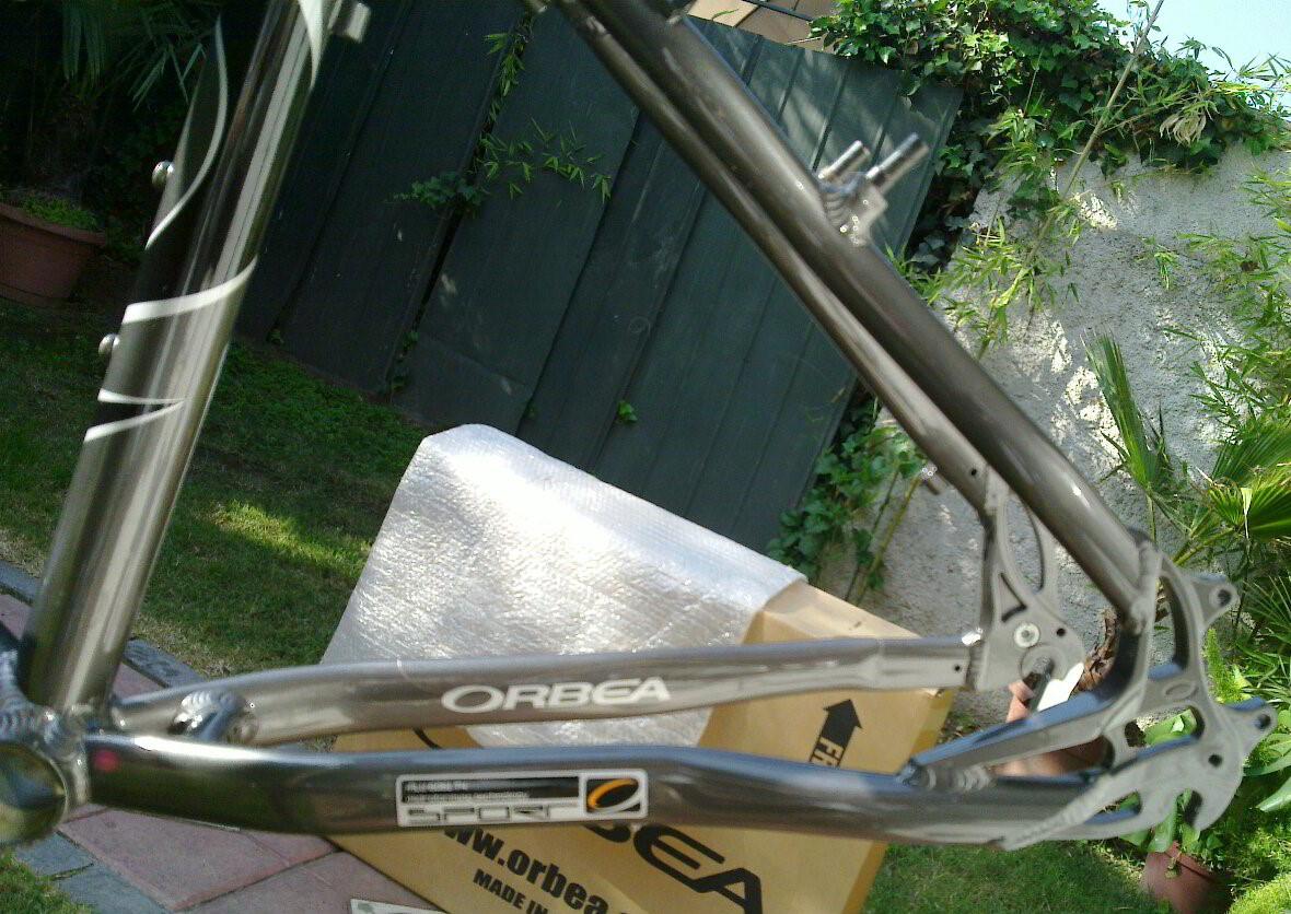 FCM: Cuadro Orbea Modelo Sport Sherpa Marco De Aluminio Mtb Xc Talla 18
