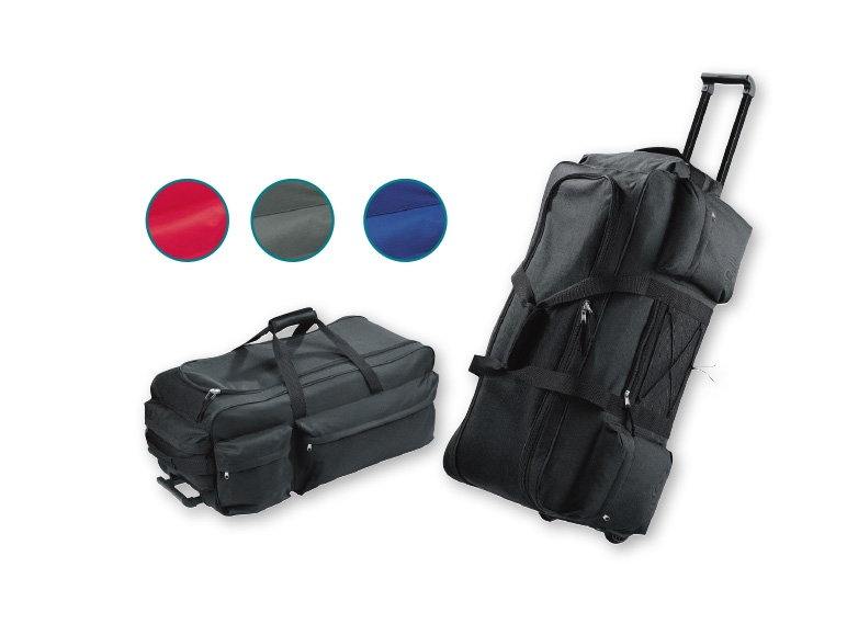 topmove 68l trolley travel bag lidl opinions products. Black Bedroom Furniture Sets. Home Design Ideas