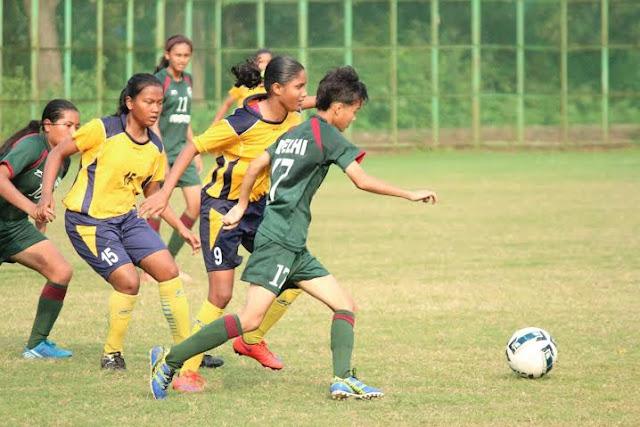 U18 Girls National Football Championship: Delhi 2-0 Goa