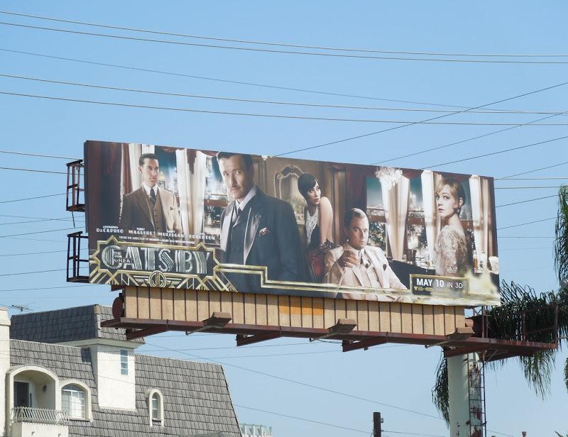 Great Gatsby 2013 billboard