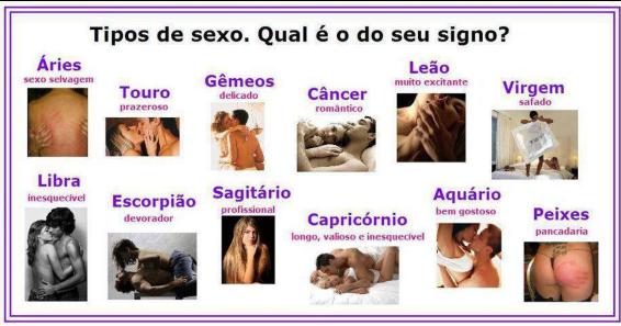 Compatibilidad de los signos del zodiaco en el sexo