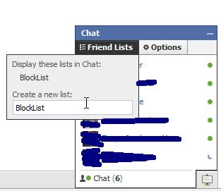 طريقة التخفي عن بعض الاصدقاء