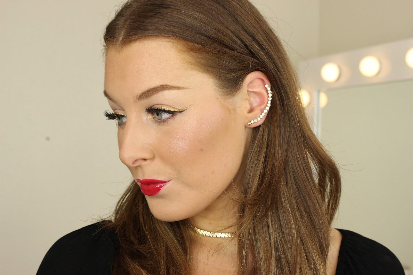 all drugstore festive makeup