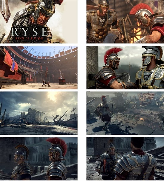 Ryse: Son Of Rome Theme For Windows 7 And 8 8.1