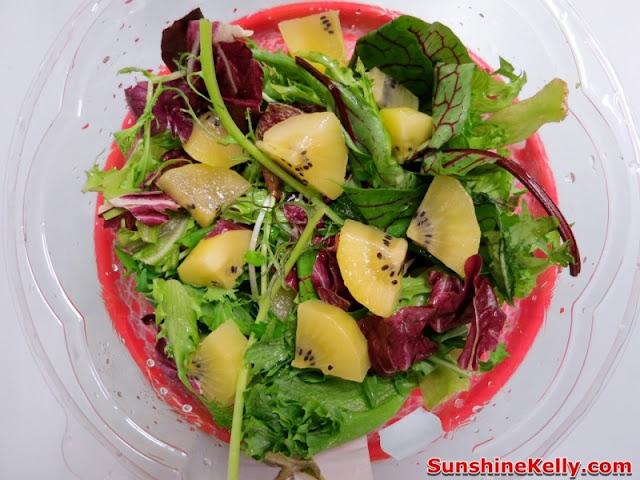 Life is Great, Zespri Green Kiwifruit, Zespri Daily Scoop Amazing Challenge, zespri salad