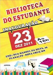 CPC-RN E ANE-RN INAUGURA BIBLIOTECA DO ESTUDANTE DIA 23