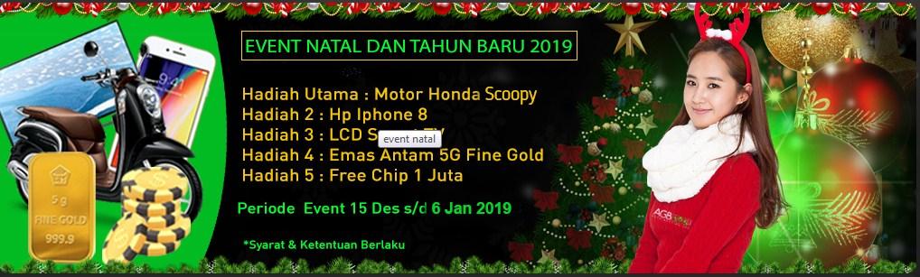 Event Natal Dan Tahun Baru 2019 AGB365