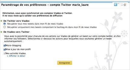 Lier Son Twitter Et Viadeo
