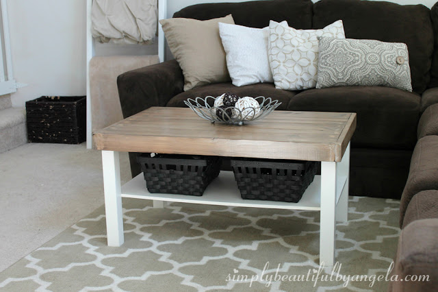 Simply Beautiful by Angela IKEA Table Makeover Take Two