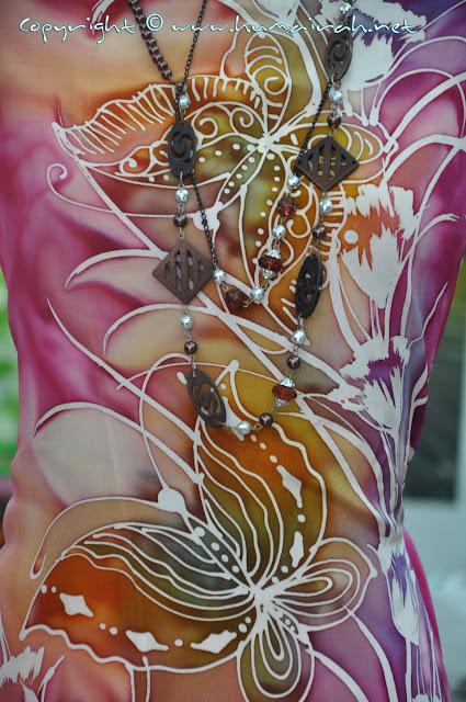 Batik Sutera Crepe - cantik even bukan exlcusive :-)