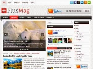 PlusMag - Free Wordpress Theme