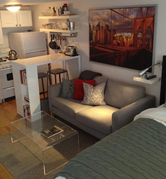 Vivir en 13 metros cuadrados ideas para decorar dise ar for Cocina 13 metros cuadrados