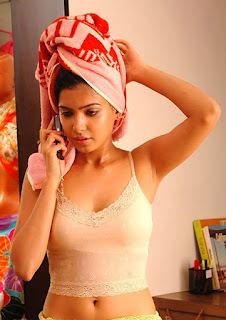 samantha sexy pic in a towel