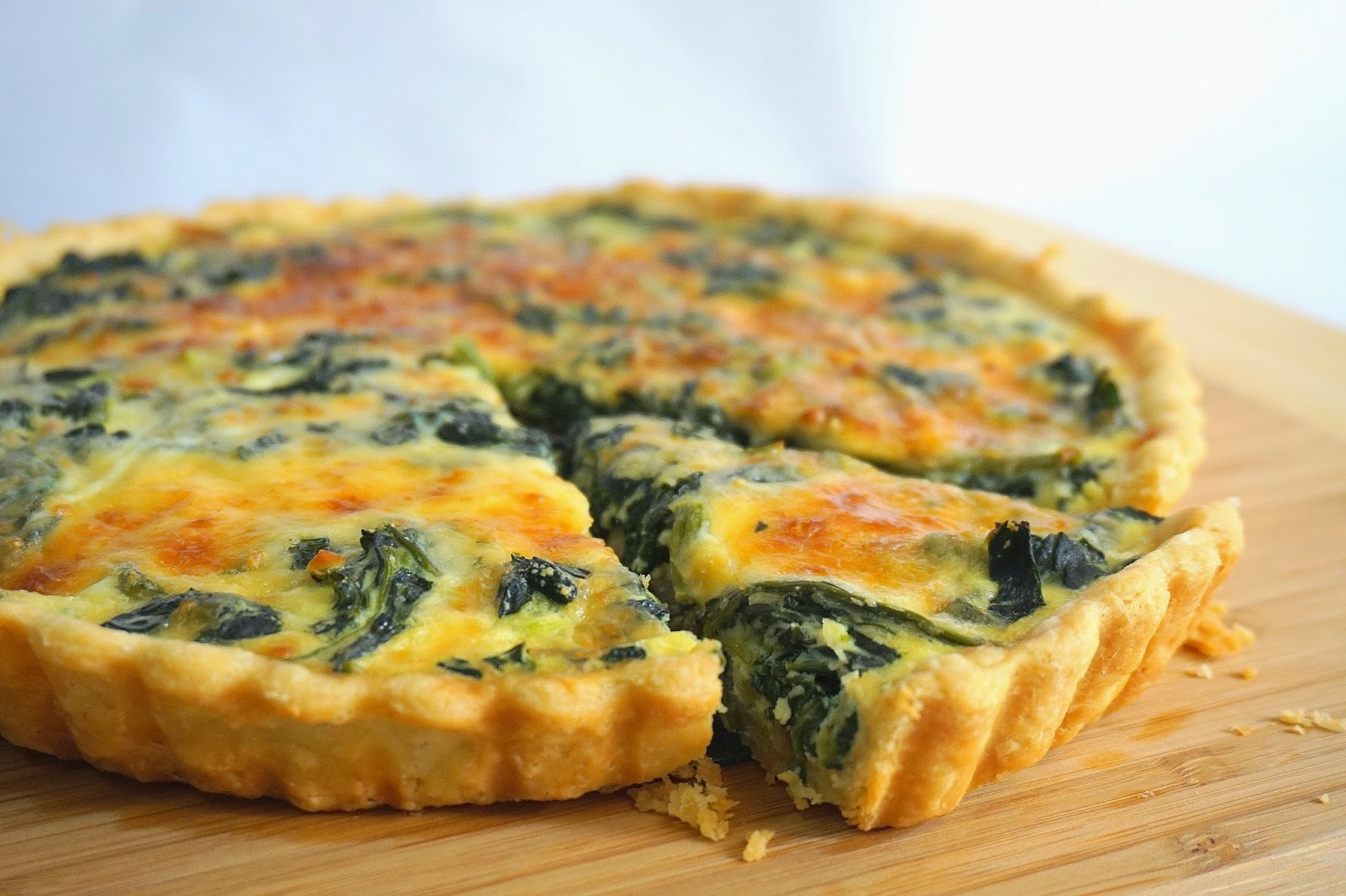 Life is too short, eat desserts: Spinach, bacon and Mushroom Quiche