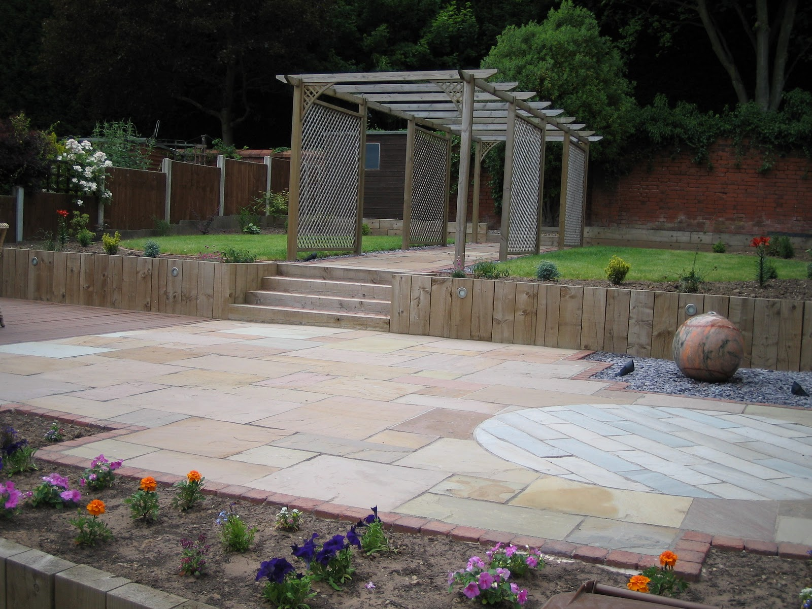 Barton Fields Patio and Garden Centre: New Garden Design Creation ...