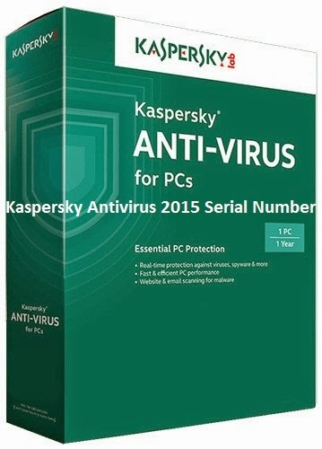 Kaspersky Antivirus 2015 Serial Number Crack Free Download