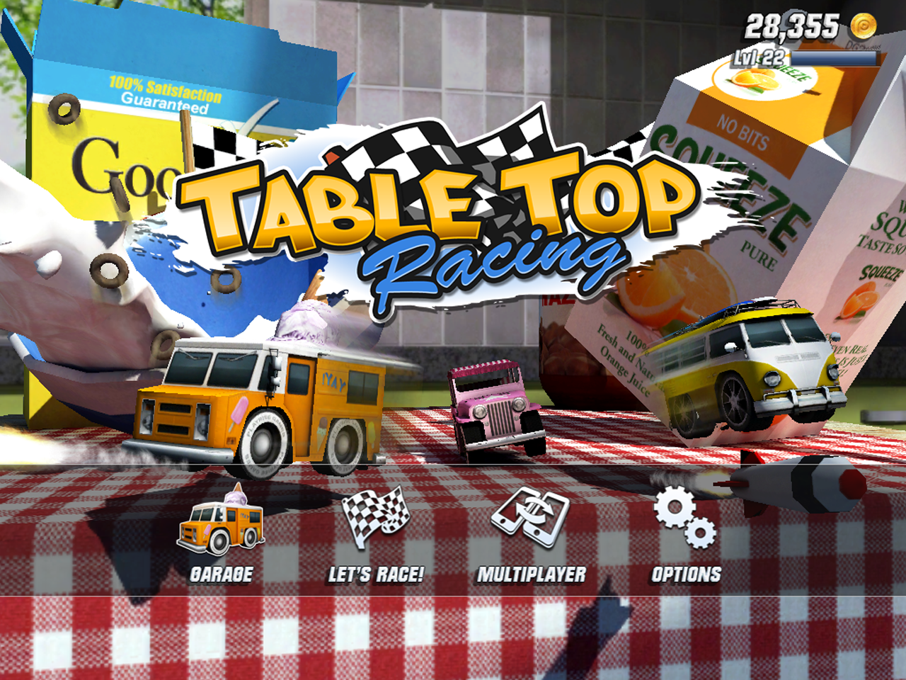 Table Top Racing Jeux Pour Android HD