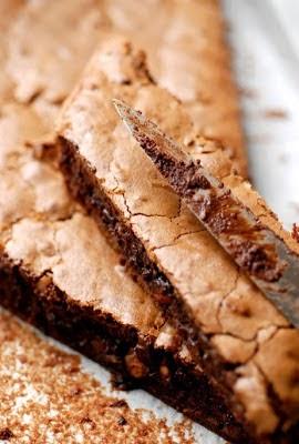 Le vendredi c'est retour vers le futur… Le plus chocolat des brownies craquants...