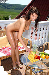 ALSScan - Stracy - Scene 1 - (Oiled Outdoors Cucumber & Banana Insertion) 06