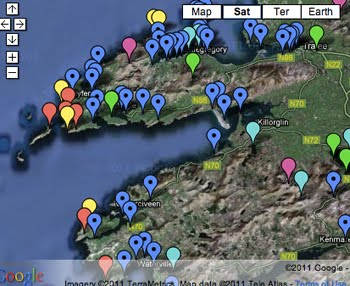 Birding Map of Co. Kerry
