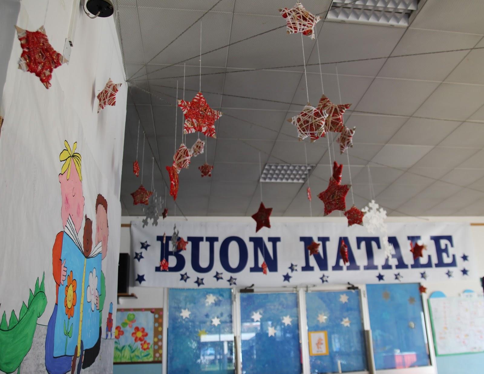 Addobbi natalizi per il salone scuola dell 39 infanzia for Addobbi scuola infanzia