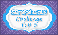 Scrapalicious Challenge  Top 3