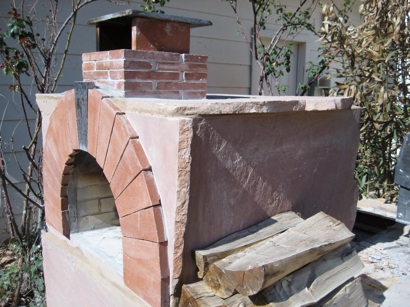 the todd family wood fired brick pizza oven in ohio brickwood ovens