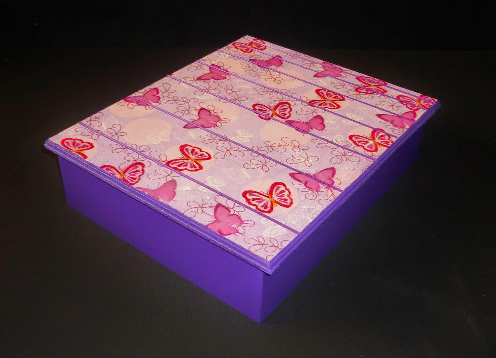 Minimandy. Caja de Té. Mariposas.