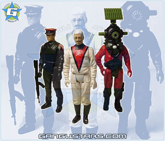 G.I.Joe Palitoy Action Force Red Shadows Black Major Muton U.K. exclusives