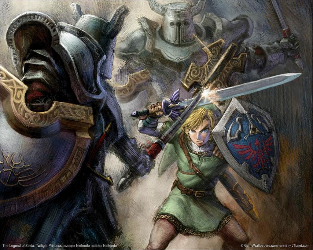 The Legend of Zelda HD & Widescreen Wallpaper 0.499631881996405